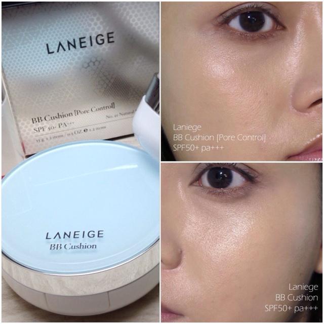 Laneige BB Cushion Pore Control & Powder Foundations ...